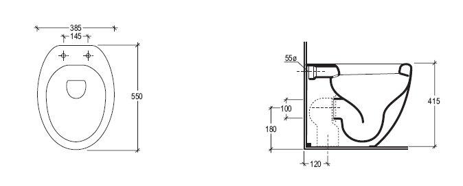 gsg ceramica stand wc touch bad heizung armaturen designarmaturen heizk rper. Black Bedroom Furniture Sets. Home Design Ideas
